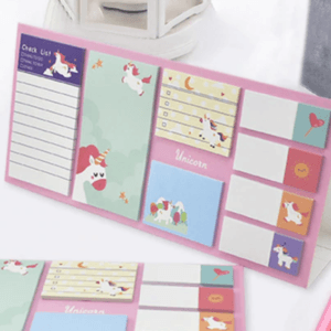 Unicorn Note pad