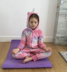 Unicorn Ellie Kids Yoga